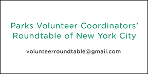 ParksVolunCoorRoundtableNYC